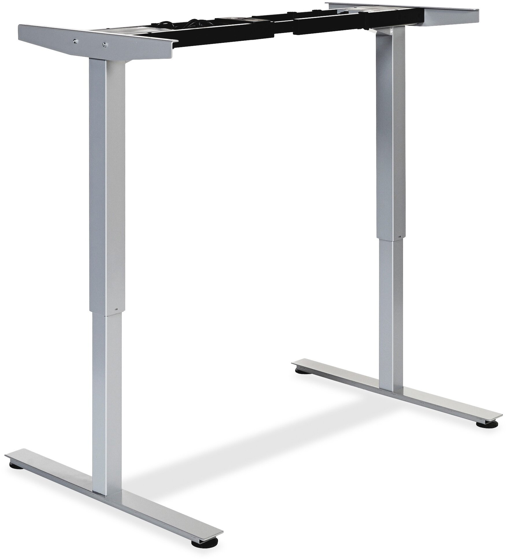 Lorell Electric Height Adjustable Sit Stand Desk Frame | Wayfair
