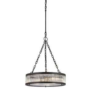 Linden 3-Light Drum Pendant