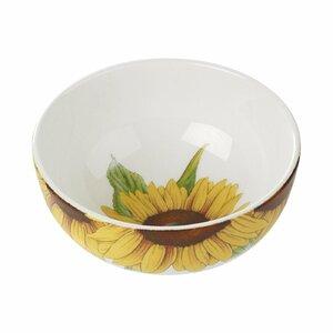 Botanic Blooms Sunflower Cereal Bowl (Set of 4)