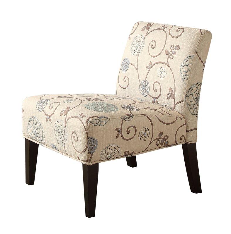 Auberkonos Armless Slipper Chair