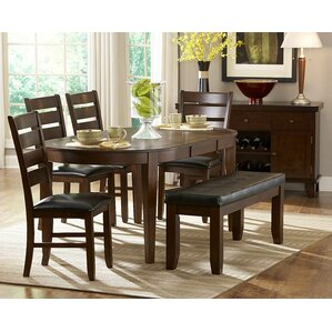 Bannister 6 Piece Dining Set by Red Barrel Studio