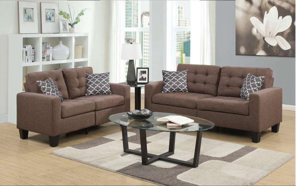 Alcott Hill Bateson Configurable Living Room Set Wayfair