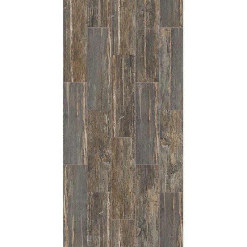 Welles Hardwood Tampico 7 X 24 Ceramic Tile In Gray Reviews