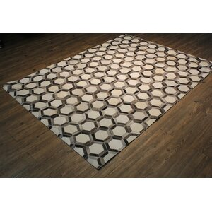 Dakotah Hand-Woven Gray/Brown Area Rug
