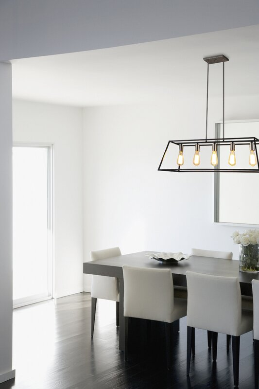 Kitchen Island Pendant ove decors agnes ii 5-light kitchen island pendant & reviews | wayfair