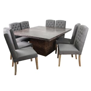 Brandon 9 Piece Dining Set by MOTI Furnit..