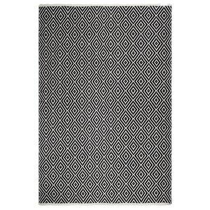 Estate Veria Hand Woven Black/White Indoor/Outdoor Area Rug