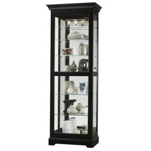Britten Lighted Curio Cabinet