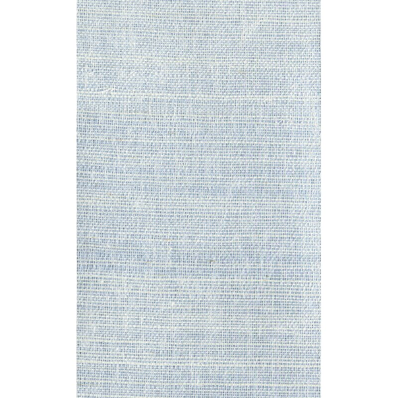 """17 Stories Cosmo 24 L x 36"""" W Plain Sisals Wallpaper Roll  Color: White/Silver"""