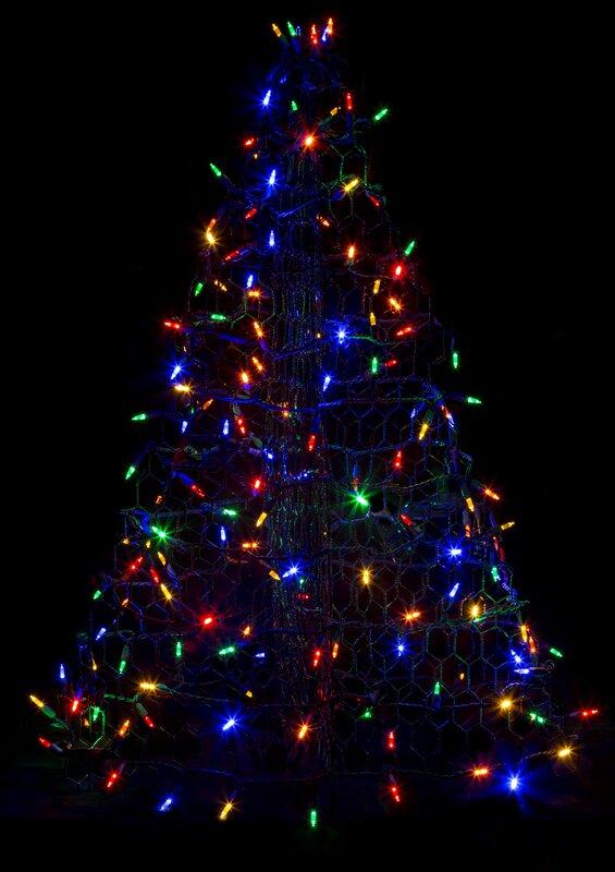 Crab Pot Christmas Trees Crab Pot Christmas Tree® With 160 LED  - Led Mini Christmas Lights