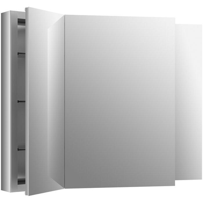 Remarkable Verdera 40 X 30 Aluminum Medicine Cabinet Download Free Architecture Designs Sospemadebymaigaardcom