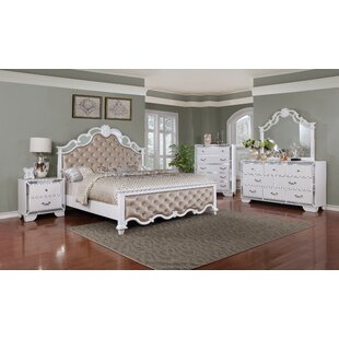 Glam White Bedroom Sets You\'ll Love | Wayfair