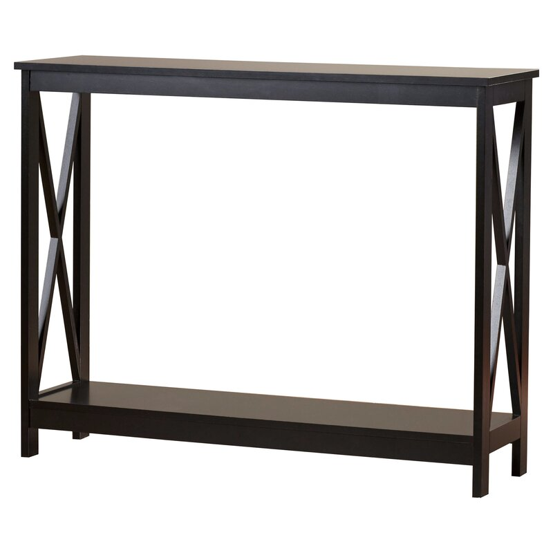 Norwich console table reviews joss main for Sofa table 70