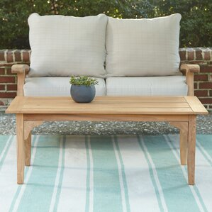 teak tables you'll love | wayfair