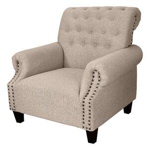 Dorothy Upholstered Armchair by DonnieAnn Company
