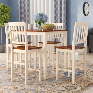 Kitchen Table Counter Height Sets Counter height dining sets youll love givens 5 piece counter height dining set workwithnaturefo