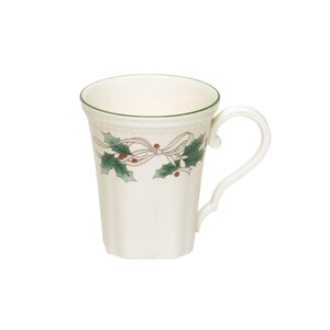 Holiday Dinnerware 12 oz. Classic Mug (Set of 4)