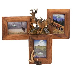 Deer Firwood Picture Frame