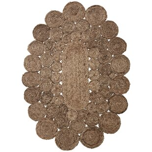Karna Hand Braided Brown Rug by Lene Bjerre