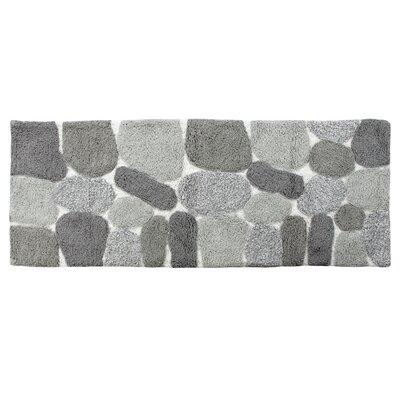 Ebern Designs Creline Bath Rug Color: Gray