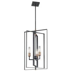 Dewees 3-Light Foyer Pendant