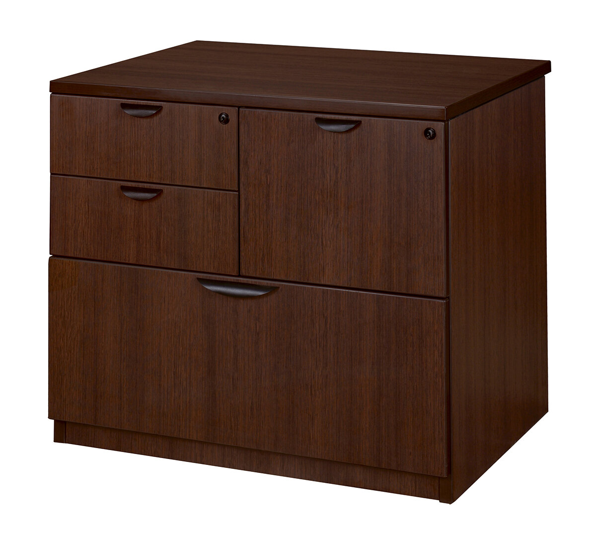 Latitude Run Linh Combo 4 Drawer Lateral Filing Cabinet | Wayfair