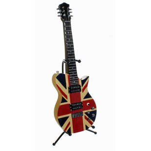 British Flag Electric Guitar Piggy Bank