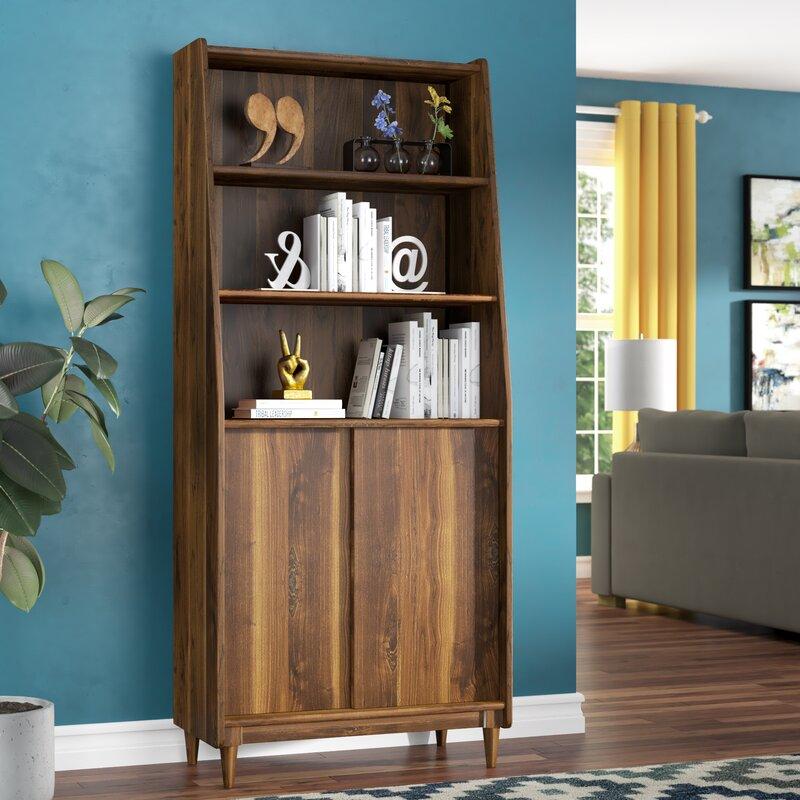 Posner Standard Bookcase Amp Reviews Allmodern