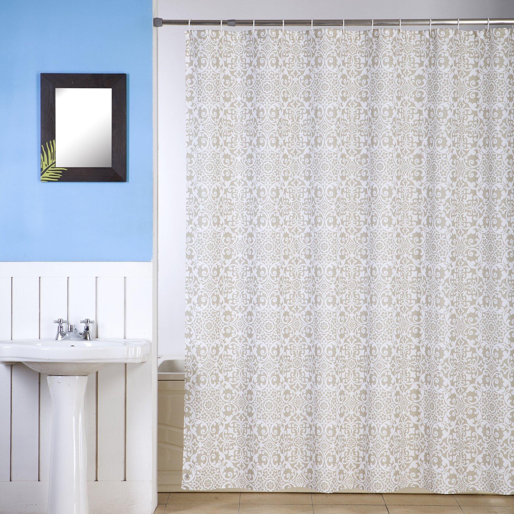 Merveilleux Ben And Jonah Royal Fabric Single Shower Curtain | Wayfair