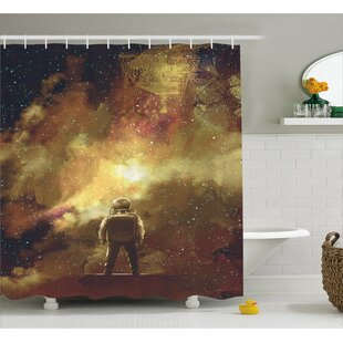 Standing Boy Decor Shower Curtain