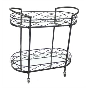 Croy Metal Bar Cart