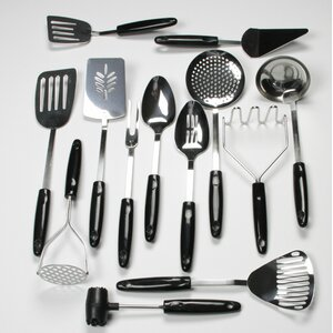 13-Piece Select Stainless Steel Kitchen Utensil Set