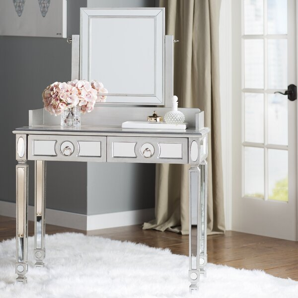 Mercer41™ Rouillard Stanley Vanity With Mirror & Reviews