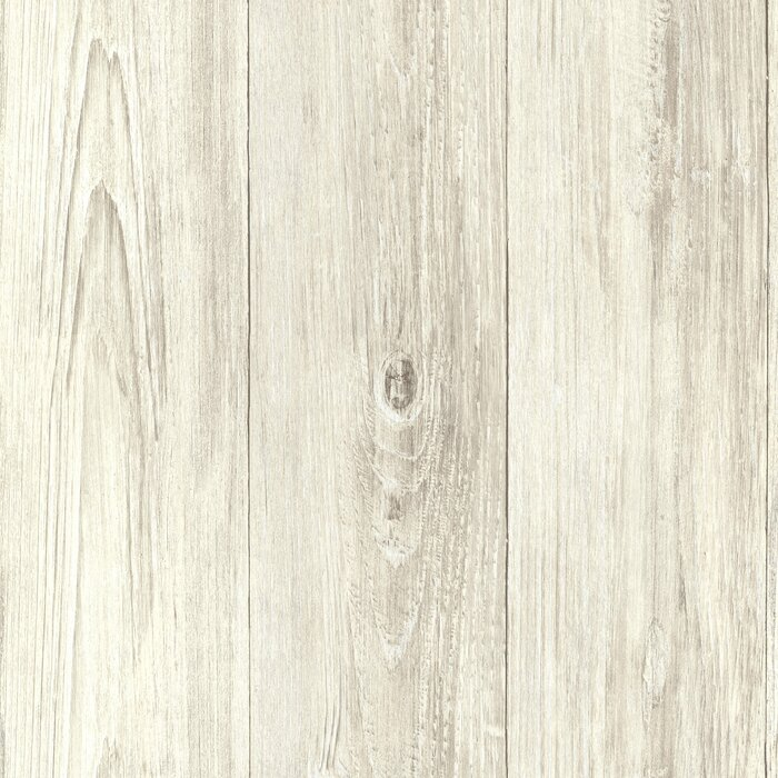 Seaside Living Mapleton 33 X 205 Faux Wood Wallpaper Roll