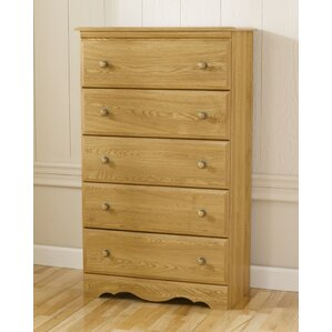 Oak Creek 5 Drawer Chest by Lang Furniture