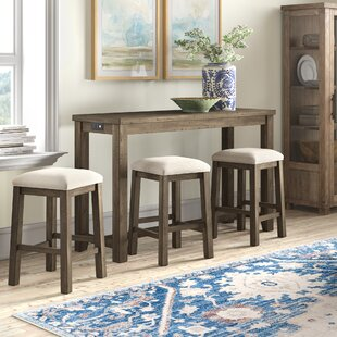 Kenworthy Multipurpose 4 Piece Pub Table Set