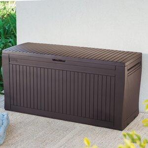 Comfy 71 Gallon Resin Deck Box