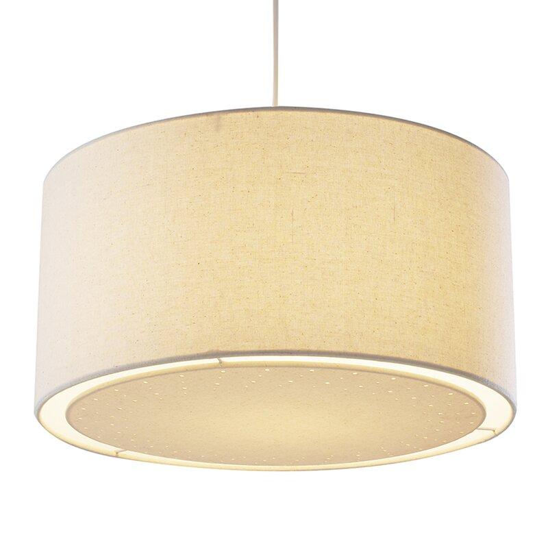 dar lighting 40 cm lampenschirm edward aus stoff. Black Bedroom Furniture Sets. Home Design Ideas