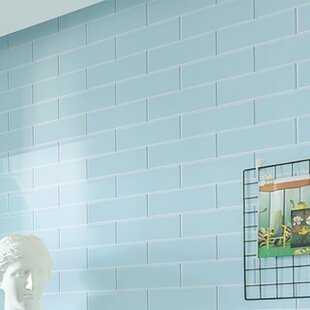 Light Blue Bathroom Tiles For Premium Series 4 Blue Subway Tile Youll Love Wayfair