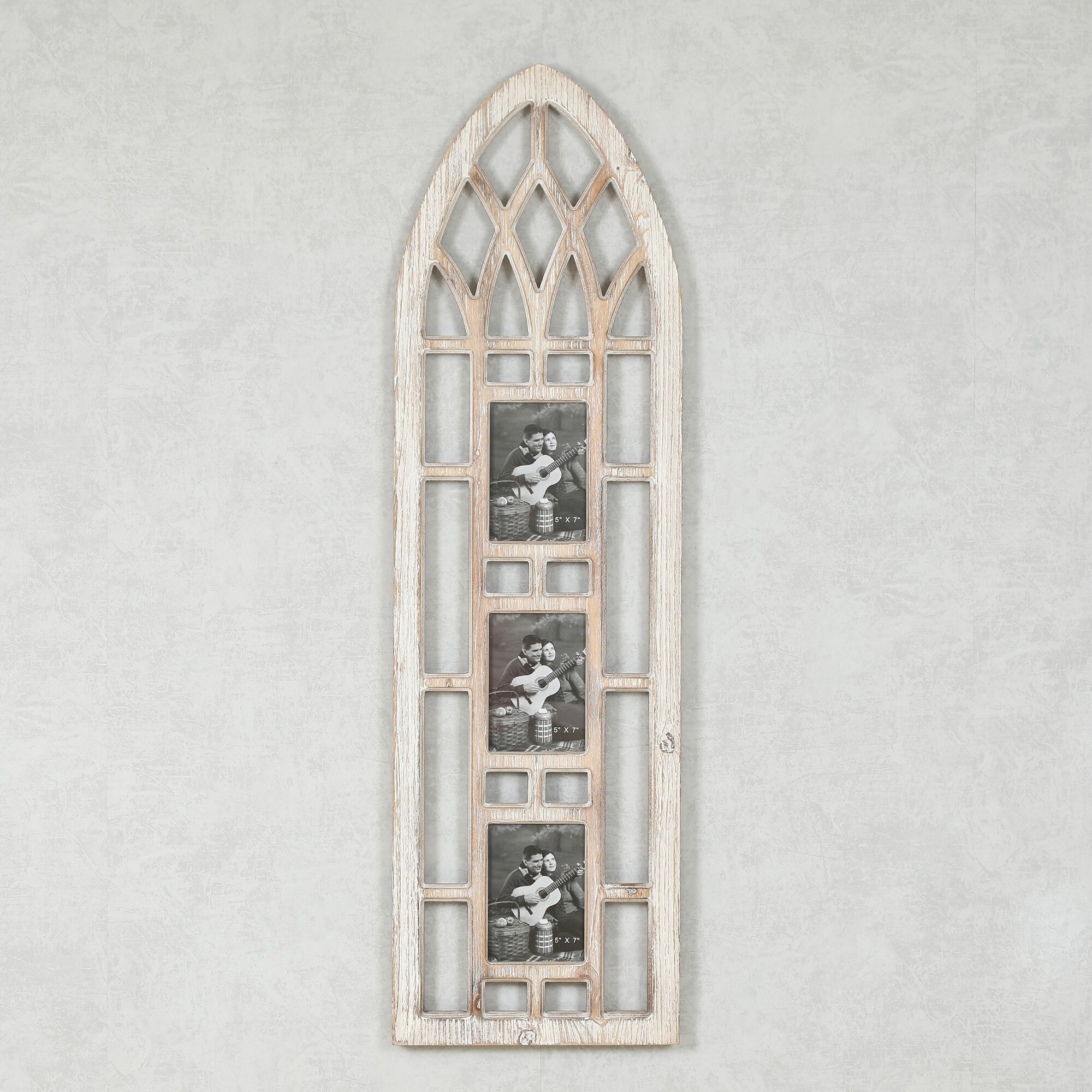Maisy Cathedral Wood Window Picture Frame