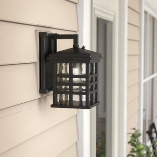 Thomsen Outdoor Wall Lantern With Dusk To Dawn Sensor