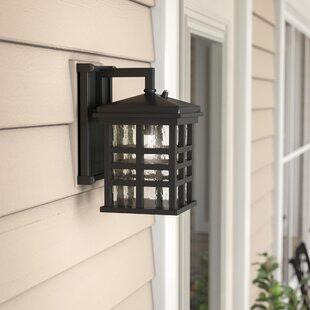 Velazco Outdoor Wall Lantern With Dusk To Dawn Sensor