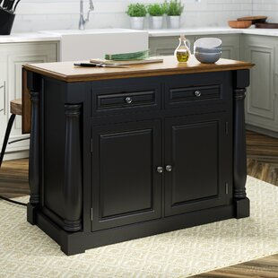 Gironde Traditional Kitchen Island Wood