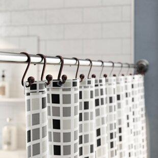 Eilerman Shower Curtain Hooks Set Of 12