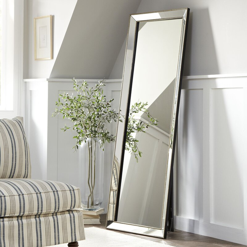 Wayfair Foyer Mirror : Birch lane™ carlton floor mirror reviews wayfair