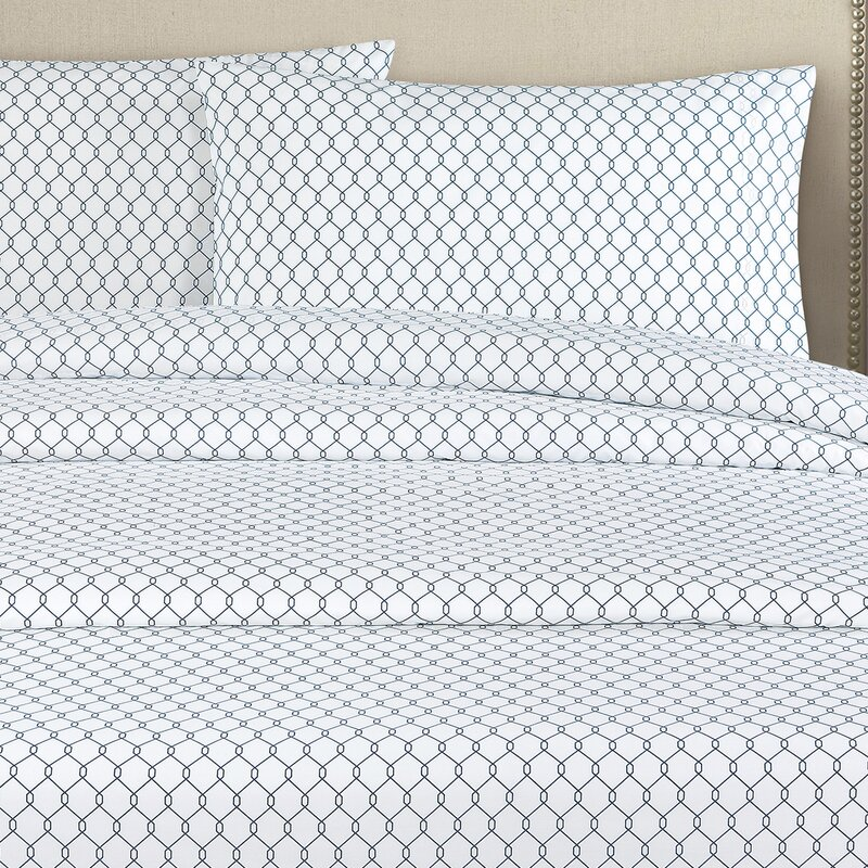 Minimalist Fence 250 Thread Count Cotton Percale Pillow Case Fresh - Inspirational percale bed sheets For Your Plan