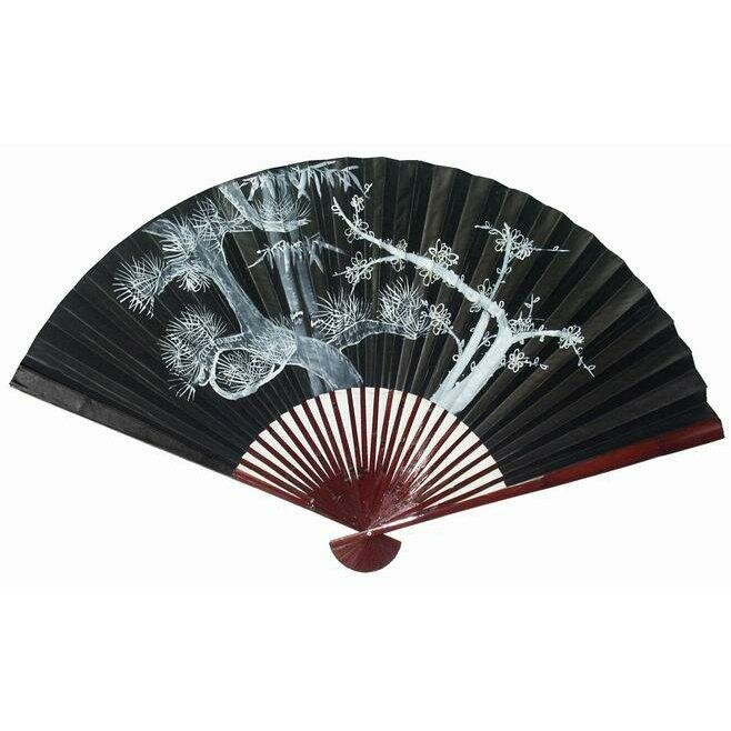 Decorative Wall Fans oriental furniture decorative oriental fan wall décor & reviews