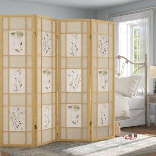 Grimmett Shoji 4 Panel Room Divider