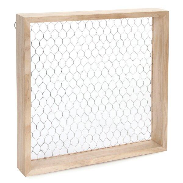 Gracie Oaks Logston Chicken Wire Shadowbox Picture Frame   Wayfair