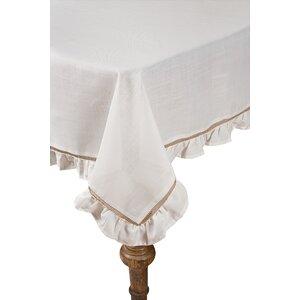 Buy Hemstitch/Ruffle Trim Tablecloth!